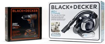 BLACK+DECKER New Brand Packaging