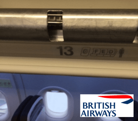 British Airways Row 13