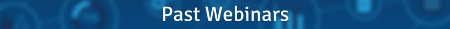 past webinars