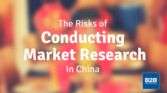Risks of Conducting Market Research in China