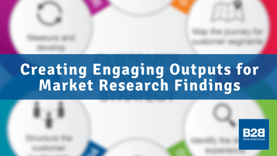 Creating Engaging Outputs for Market Research Findings
