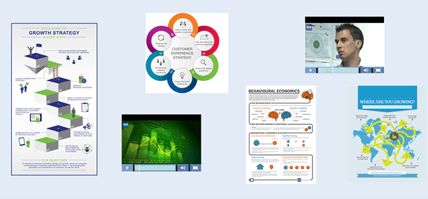 Creative engaging outputs - data visualisations and video