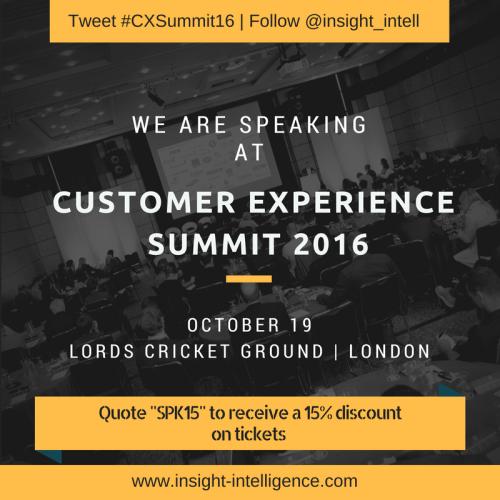 Customer Experience Summit 2016